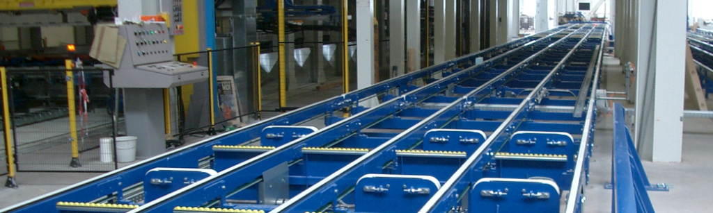 The internal transport system plays an important role in the production process