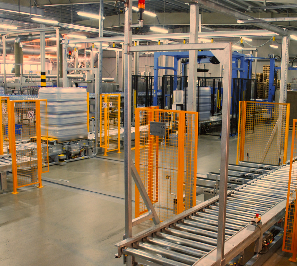 Case study: Automated transport and storage systems for thermally insulated containers