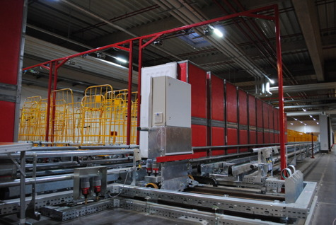 Container handling systems