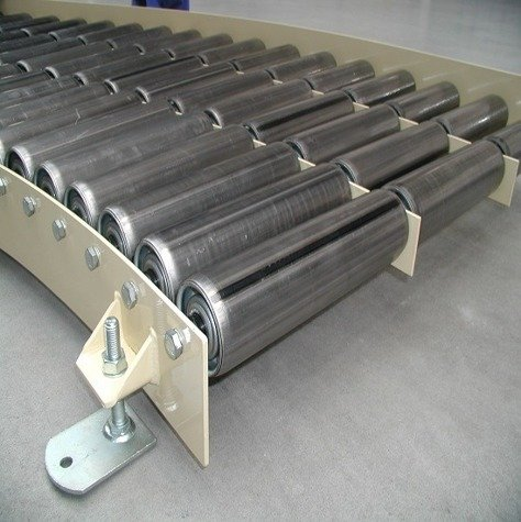 Non-driven roller conveyor