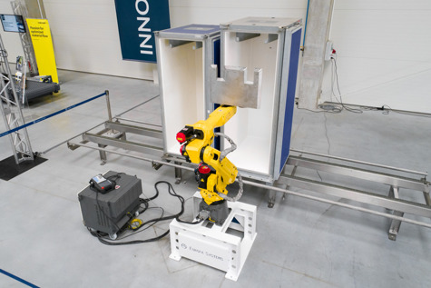 Robo Wash&Dry powered by FANUC
